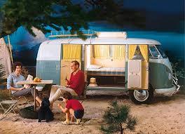 les vacances vintage en van aménagé VW