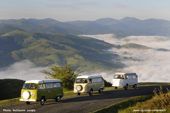 combi vw au pays basque
