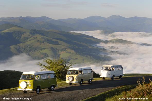 combi vw au pays basque