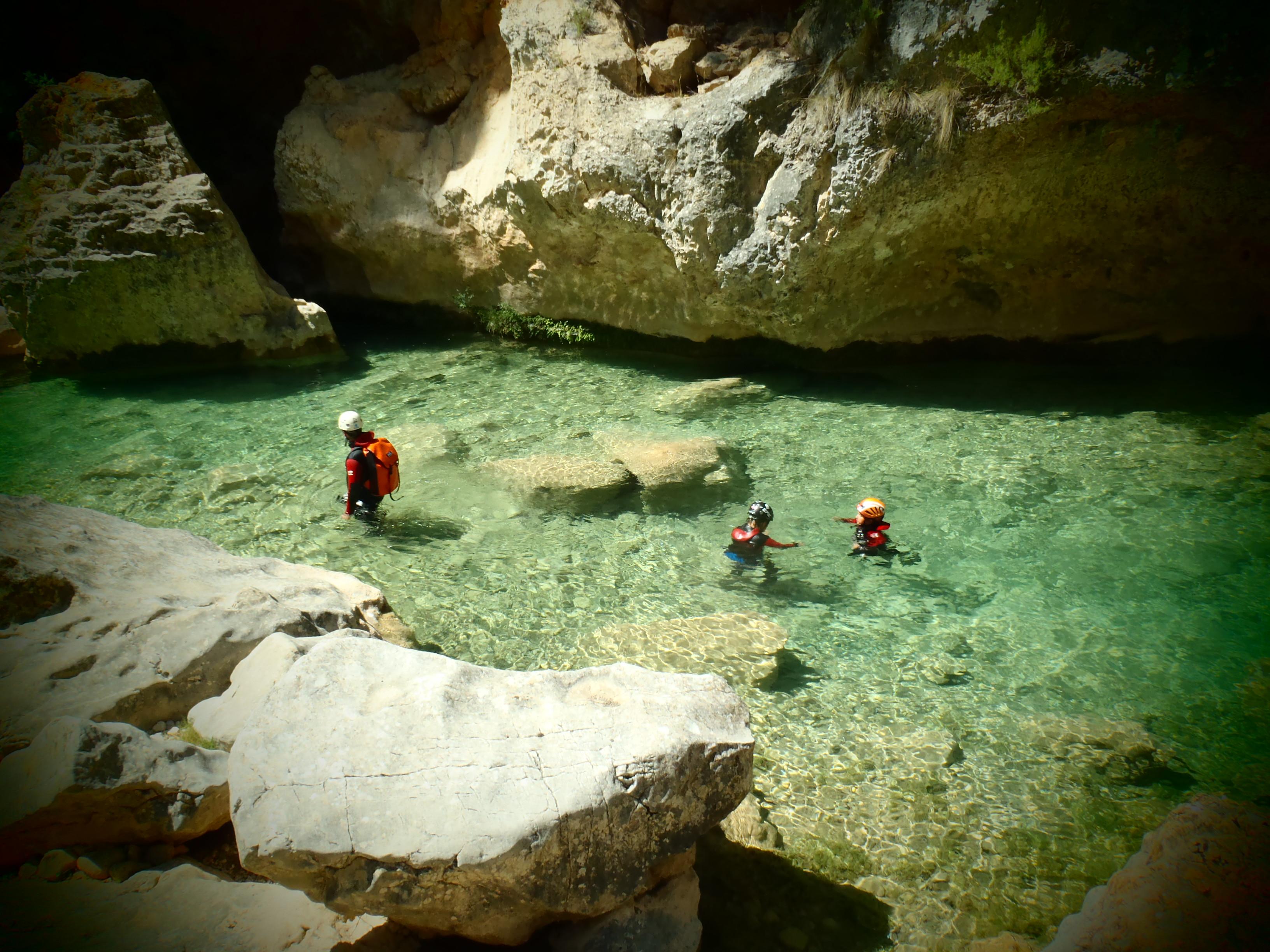 canyoning vallée d'ossau
