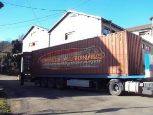 container vintage autohaus