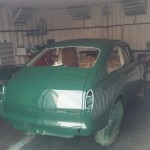 fastback VW restauration